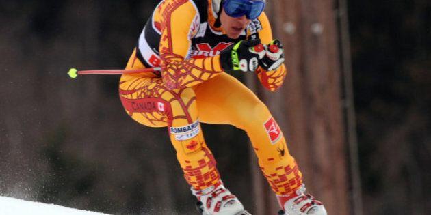Erik Guay termine en 4e place à