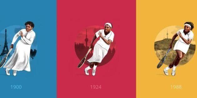Des Jeux Olympiques d'Athènes à ceux de Rio, 120 années de tenues sportives résumées en une