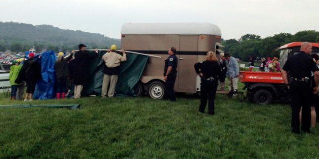 Le cheval Arcadius meurt après avoir remporté la course à obstacles