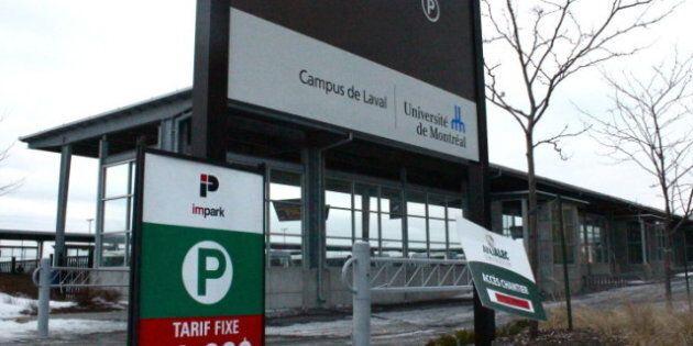 Stationnement de l'UdeM à Laval: déserté parce que trop