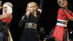 Les Giants et Madonna au