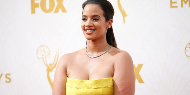 IMAGE DISTRIBUTED FOR THE TELEVISION ACADEMY - Dascha Polanco arrives at the 67th Primetime Emmy Awards...