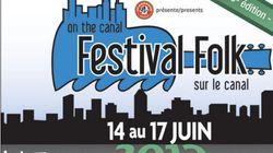 Festival Folk sur le Canal: du 14 au 17