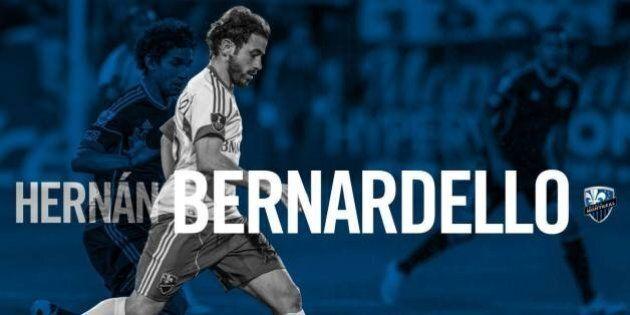 Bernardello marque et l'Impact arrache un match nul de 1-1 au