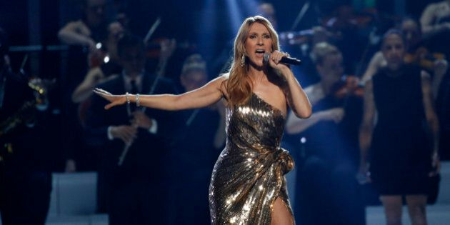 Billboard Icon Award recipient Celine Dion