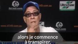 Exaspéré, Jean-Claude Van Damme s'en va en pleine