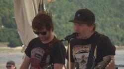 Fred Fortin nous chante «Oiseau» au Festif! de Baie-Saint-Paul