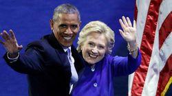 Obama exhorte les États-Unis à porter «Hillary» vers la victoire