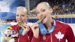 JO: L'équipe de nage synchronisée canadienne en est une de