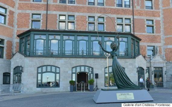 Une sculpture de Salvador Dalí d'une valeur de 2,5 millions$ vandalisée à
