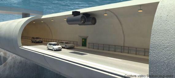 Entre le tunnel sous-marin et le pont, la Norvège pourrait expérimenter les tunnels flottants