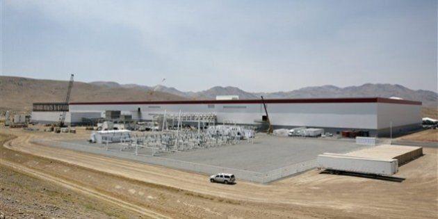 Tesla ouvre officiellement sa gigantesque usine dans le désert du