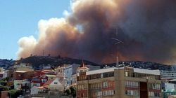 Gigantesque incendie dévastateur au
