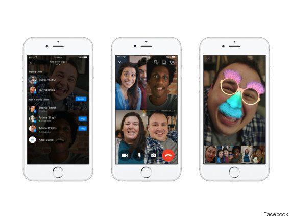 Facebook: vous pouvez maintenant faire des appels vidéo avec 50