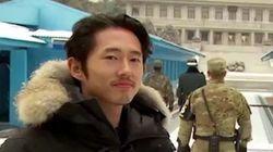L'improbable entrevue de Glenn de «Walking Dead» en Corée du