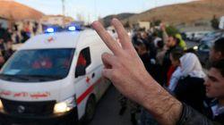 Rares évacuations dans la Syrie en