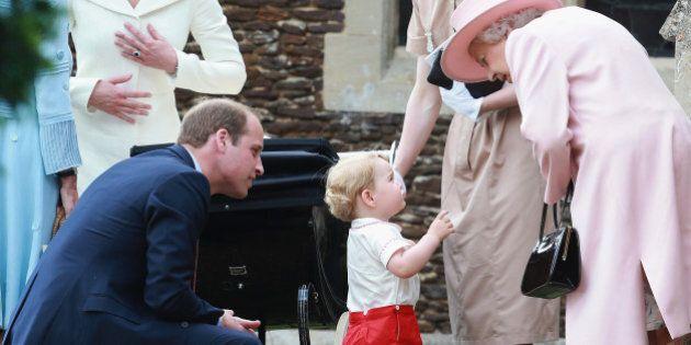 Kate Middleton dévoile le surnom donné par le prince George à son arrière grand-mère la reine Elizabeth