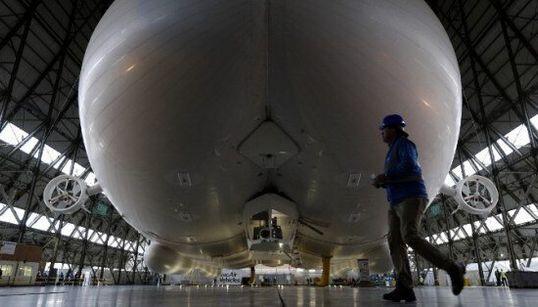 Voici le plus gros aéronef au