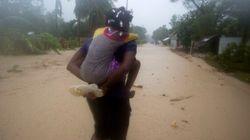 L'ouragan Matthew continue de frôler dangereusement la côte est des