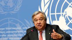 Antonio Guterres à la tête de