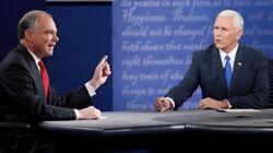 Les deux candidats à la vice-présidence à