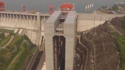 L'ascenseur le plus massif au monde a ouvert en Chine