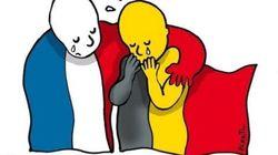 Les dessins en hommage à l'actualité des attentats à
