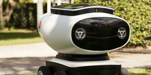 Domino's va tester un robot livreur de pizzas