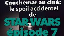 Ce cinéma a dévoilé un « punch » de Star Wars VII en pleine projection du