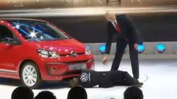 Un faux mécanicien piège Volkswagen au Salon de l'Auto