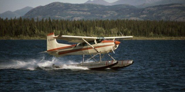 UNITED STATES - AUGUST 02: Seaplane, Klondike, Alaska, United States of America. (Photo by DeAgostini/Getty