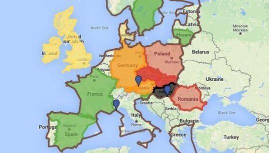 Europe : Frontières, quotas de réfugiés... la position officielle de chaque