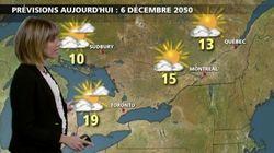 Chaleur et ouragan: la météo de décembre 2050