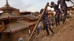 Népal: des monuments historiques ravagés