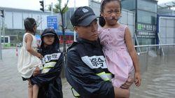 Le typhon Goni frappe le