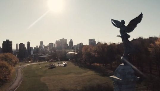 Montréal en novembre : La métropole en automne vue du