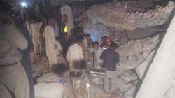Effondrement d'une usine au Pakistan: au moins 16