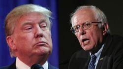Trump/Sanders, le duo improbable qui