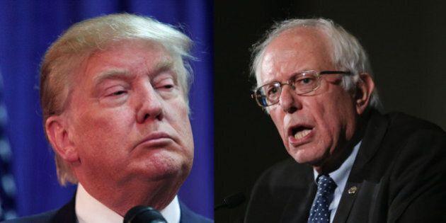 Trump/Sanders, le duo improbable qui séduit les électeurs