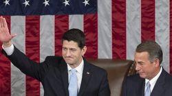 Le républicain Paul Ryan élu président de la Chambre des