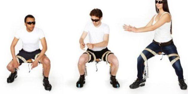 La chaise sans chaise : «Chairless