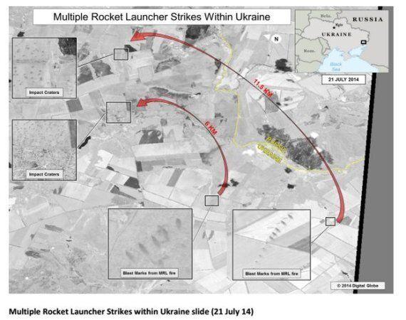 Les États-Unis publient des images «prouvant que la Russie tire sur l'Ukraine»