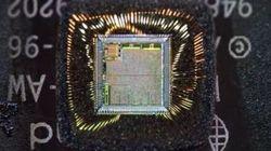 Un zoom impressionnant au coeur d'une puce électronique