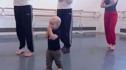 Quand bébé est prof de danse