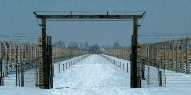 Avant la libération d'Auschwitz en 1945, la «marche de la mort»