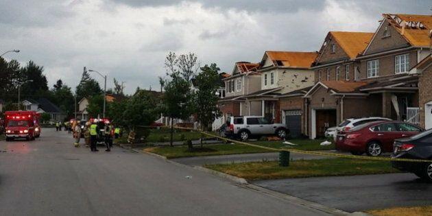 Tornade et tempête dans le sud de l'Ontario, des milliers de foyers privés
