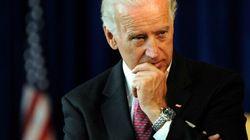 Le vice-président américain Joe Biden en Ukraine le 22