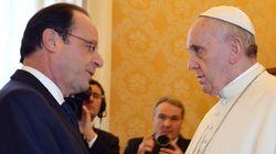 Ambiance glaciale entre François Hollande et le pape François