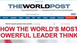Arianna Huffington et Nicolas Berggruen lancent le World