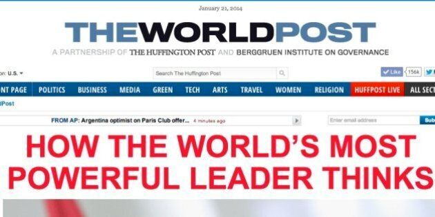 Arianna Huffington et Nicolas Berggruen lancent le World Post à
